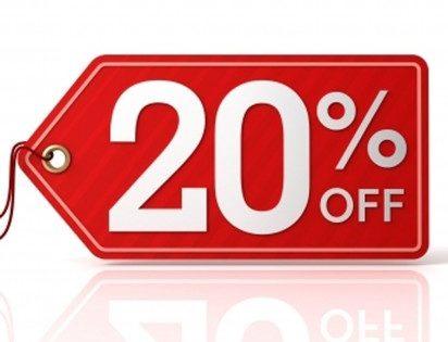Получите скидку 20% на интернет-заказ!…